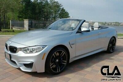 2016 M4 -- 2016 BMW M4  Convertible 3.0L Inline 6-Cyl M Twinpower Turbo Engine Manual Silve