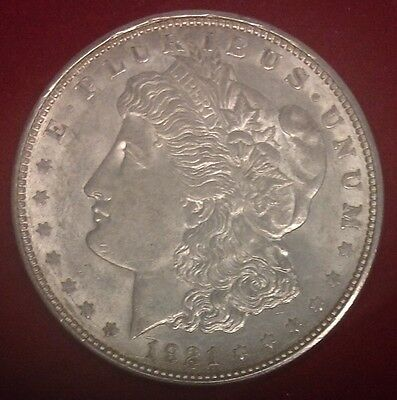 1921-D $1 Morgan Silver Dollar UNC
