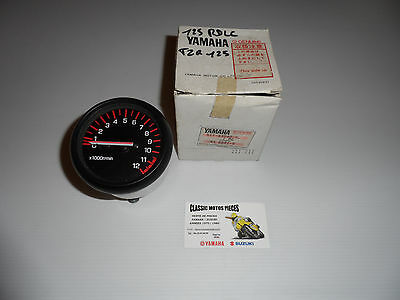125 Tzr Yamaha Annee 1987-1989-1990 Compte-Tours Neuf