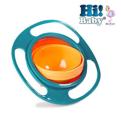 Hi! Baby 1 Anti Spill Bowl Smart Snacker Baby/Toddler No-Spill Snack Bowl