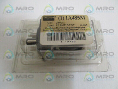 Dayton 1A485M Relay 24Vdc *new In Original Package*