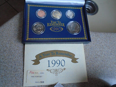 American Historic Society 1990 A Year To Remember Coin set #3