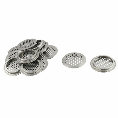 Bathroom Stainless Steel Round Shower Floor Drain Cover Lid 65mm Dia 12 Pcs