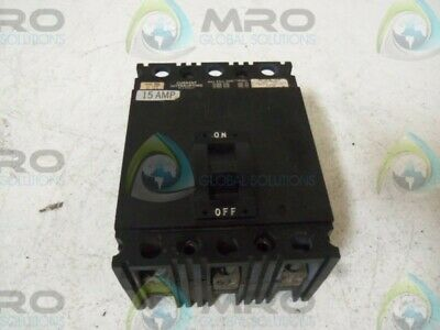 Square D Fal36015 Circuit Breaker 15A * Used *
