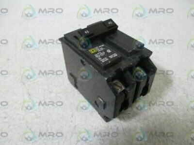 Lot Of 2 Square D Hom245 Circuit Breaker *Used*
