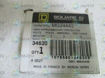 Square D Circuit Breaker Mg24443 *New In Box*