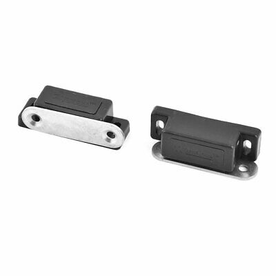 2PCS MAGNETIC DOOR Catch Latch Furniture Cabinet Drawer Glass
