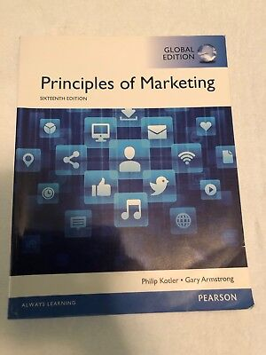 Principles of Marketing (16th edition) by Philip Kotler & Gary Armstrong
