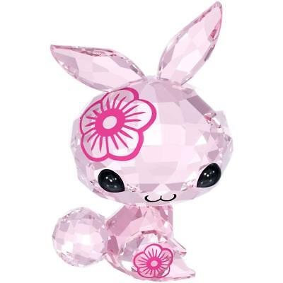 NEW Authentic Swarovski Pink Crystal ZODIAC Figurine MIMI THE RABBIT Limited