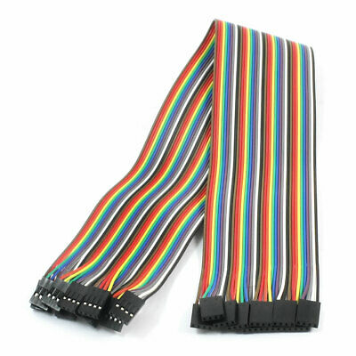 10pcs 4P-4P Female to Female Breadboard Connect Test Jumper Cable Wire 40cm