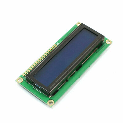 1602A 16 x 2 Lines White Character LCD Module w Blue Backlight DC 5V