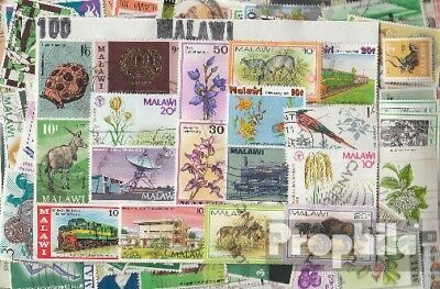 Malawi 100 different stamps