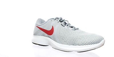 d87305966a99 NIKE MENS REVOLUTION 4 Flyease Gray Running Shoes Size 12 (209282 ...