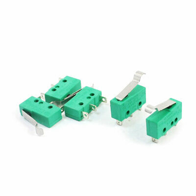 5pcs KW4-3Z-3 SPDT NO NC Momentary Hinge Lever Limit Switch Microswitch