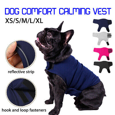 Dog Comfort Calming Vest Thunder Anxiety Calm Emotional Appeasing Jacket Clothes