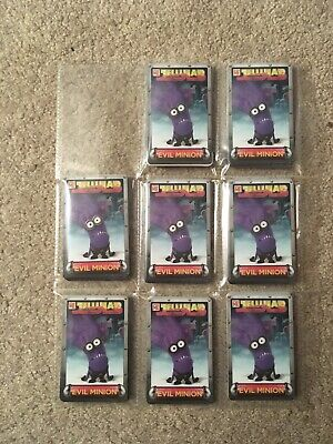 Lot Of Dave And Buster Coin Pusher Cards Star Trek Spongebob Wizard Of Oz Minion