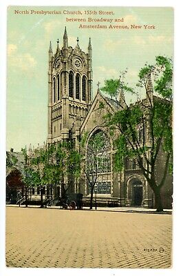 C1909 PRESBYTERIAN CHURCH Johnstown New York Postcard - $6 99 | PicClick