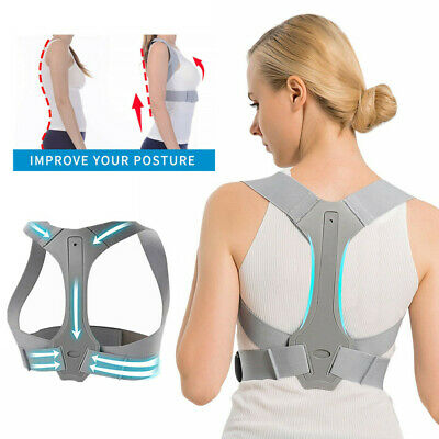 New Upgrade Back Posture Corrector Shoulder Brace Support for Women Men Child AU