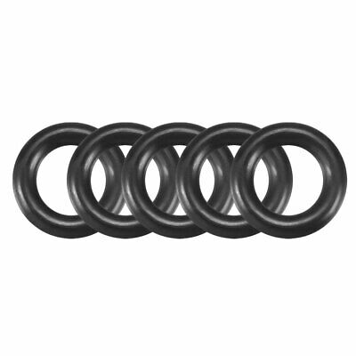7mm x 4mm x 1.5mm Rubber O Rings Oil Seal Gasket Washer Replacement 30 Pcs