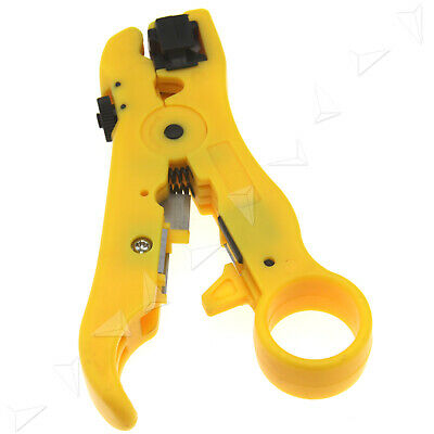 Networking Tools Rotary Coaxial Cable Wire Stripping Tool Plier RG7 RG11 RG59