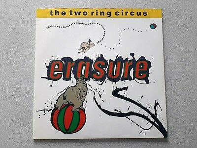 VINYL 2-er LP ERASURE THE TWO CIRCUS MUTE INTERNATIONAL 192622 1987