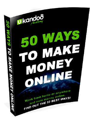 50 Ways To Make Money Online Pfd Ebooks Ebook Resell Right Free Shipping E Book