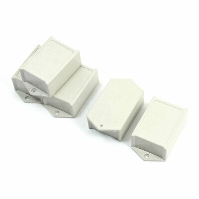 5pcs Gray Plastic Project Power Protector Case Junction Box 60x45x28mm