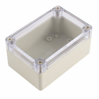 Waterproof Clear Cover Plastic Electronic Project Junction Box 100 x 68 x 50mm