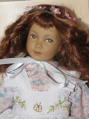 "Little Ones 12"" Swiss Design Original Heidi Ott Doll In Box"