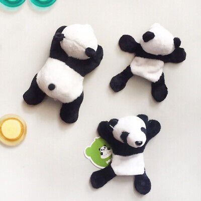 Cute Panda Plush Fridge Magnet Home Kitchen Refrigerator Decor Gift Panda Magnet