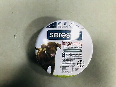 Bayer Seresto Flea and Tick C, 8 Month Protection