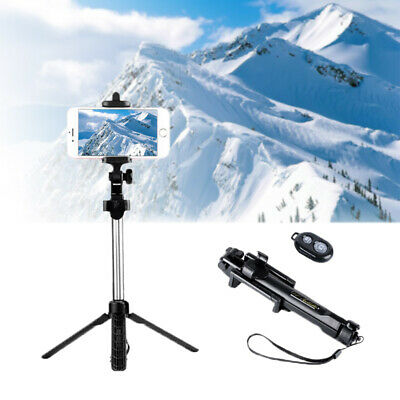 Extendable Selfie Stick Tripod Bluetooth Remote Monopod For Mobile Phone