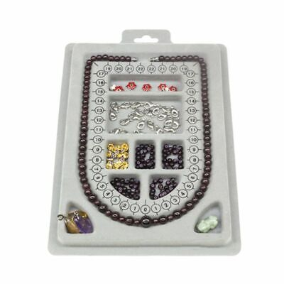 DIY Necklace Tray Design Handmade Necklaces Making Jewelry Tools Craft Organizer