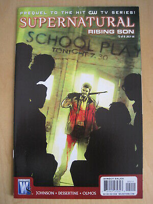 SUPERNATURAL, RISING SON : issue 2.  THE CULT HIT CW TV SERIES. DC. 2008