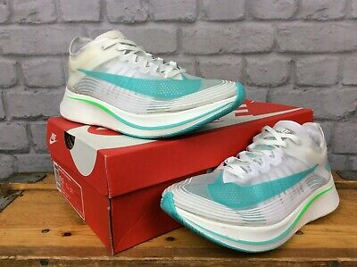 Nike Uk 7 Eur 41 White Green Zoom Fly Sp Running Trainers