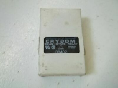 Crydom D2402 Solid State Relay *New In Box*