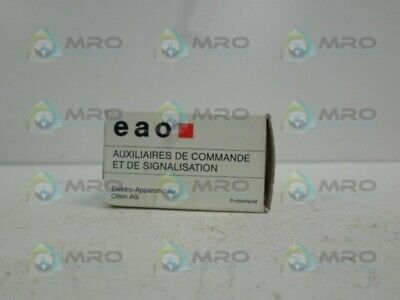 Eao 704.341.0 Switch Actuator *New In Box*