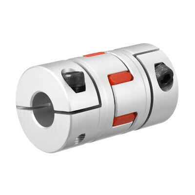 Shaft Coupling 1/2inch to 1/2 Bore L66xD40 Flexible Coupler Joint for Motor