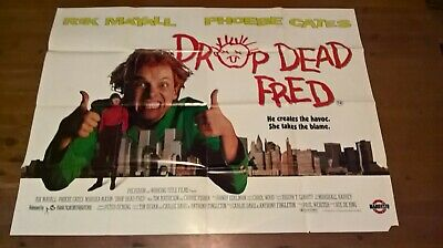 Drop Dead Fred -  Film Poster -  Year 1991 -Size 30 X 40 Inches- Rik Mayall