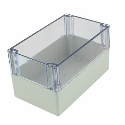 200MM X 120MM x 113mm Clear Cover Dustproof IP65 Enclosure Case DIY  Junction Box