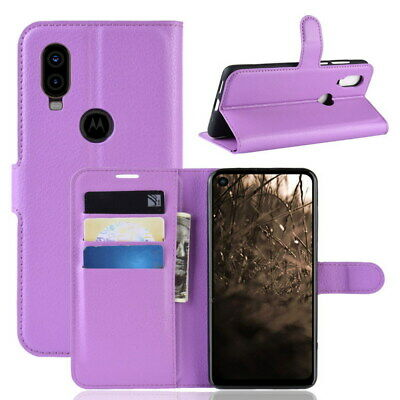 New Shockproof Wallet Flip PU Leather Cover Case For Motorola MOTO P40 Phone