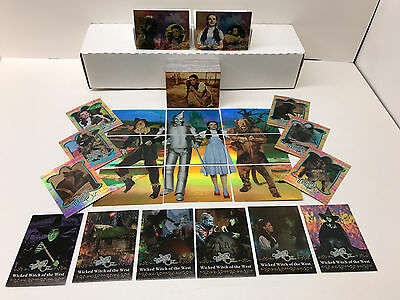 THE WIZARD OF OZ SERIES 1 Breygent Complete Base Card Set with ALL CHASE CARDS