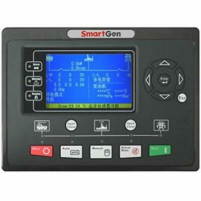 SmartGen HGM9320CAN Generator controller, real-time clock, event logs, SMS, AMF