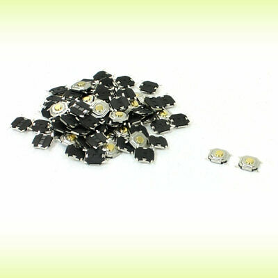 70 Pcs 5mm x 5mm 4 Pins Momentary SMD SMT Tactile Tact Push Button Switch