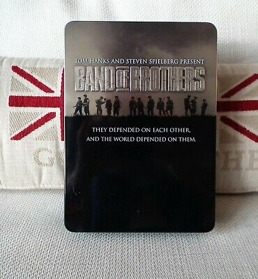 Band of Brothers - Steel Box 6 DVDs Steel Book Metallbox Tin Box - TOP