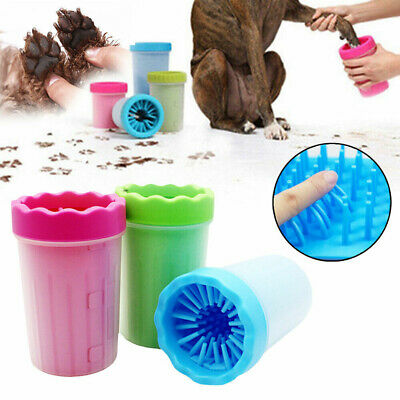 Portable Pet Paw Plunger Mud Cleaner Water Washer Mudbuster Dog Cat Pets Paw UK