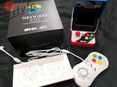 [EXC] SNK NEO GEO mini Console w/Gamepad 40 Game Titles from Japan