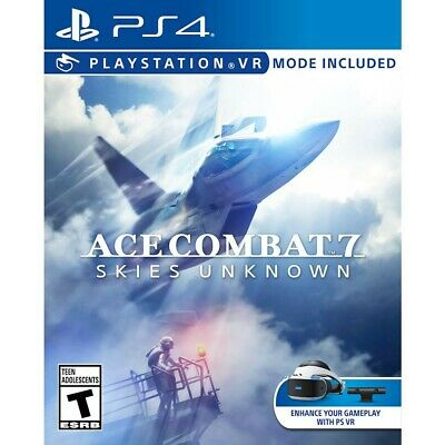 New and Sealed PS4 Ace Combat 7 Skies Unknown 2019