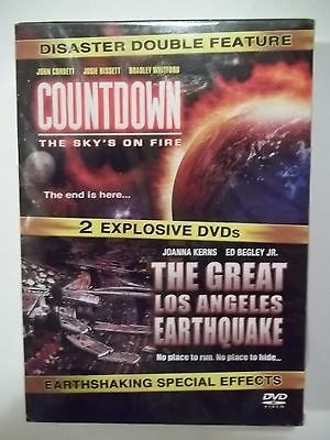 Disaster Double Feature 2 DVD Set: Countdown & The Great Los Angeles Earthquake