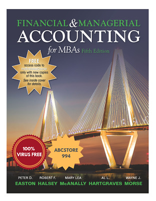 [PDF] Financial and Managerial Accounting for MBA's 5th Edition